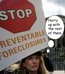 Foreclosures rising in wake of bank settlement deal