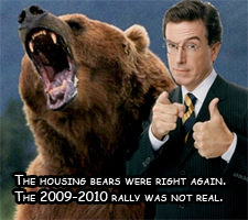 The housing bears are right, but prices will go up anyway