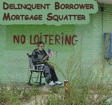 Fed study concludes delinquent mortgage squatters lower values, foreclosures improve values