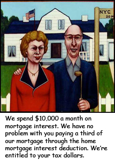 Home mortgage interest deduction may fall off the fiscal cliff